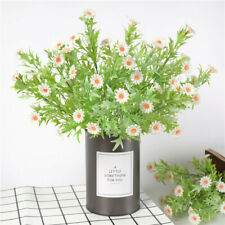 Artificial Fake Chrysanthemum Silk Daisy Flower Bouquet Garden Decor ONE
