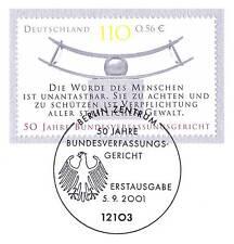 BRD 2001: Bundesverfassungsgericht Nr. 2214 mit Berliner Sonderstempel! 1A! 1606