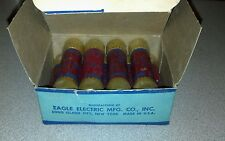 EAGLE 40A-250V NON-RENEWABLE CARTRIDGE FUSES, 40 AMP, #655