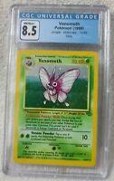CGC Venomoth Pokemon (1999) Jungle Unlimited 13/64 Holo Graded 8.5 NM/M+