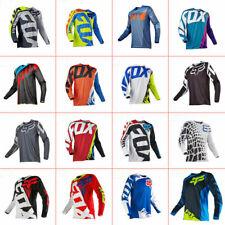 FOX Long Sleeve Downhill Shirt Racing Jersey Off-Road Mountain Bike Clothing