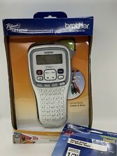 New Listingbrother P Touch Pt H100 Label Thermal Printer With Pz Tape Both New Open Box