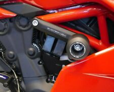 DUCATI SuperSport & S 2017+ Frame Crash Protection Bungs by Evotech Performance