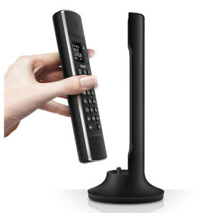 Philips Liena Design Cordless Phone M3301/B Black Digital Landline Telephones