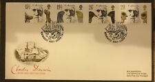 First Day Cover - Charles Darwin 1982