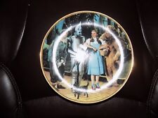 """""""We're Off to See The Wizard"""" 8.5 Inch Collector Plate No Box"""