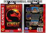 Mortal Kombat - Sega Genesis Custom Case *NO GAME*