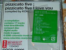 PIZZICATO FIVE 5 I LOVE YOU CD 2006 OBI BEST OF JAPAN GREATEST HITS TRISTE STARS