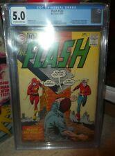 Flash 123 comics CGC  5.0 Golden age Flash 1st appearance SA