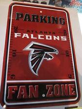 Atlanta Falcons Fan Zone Parking 12x18 Sign