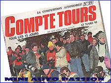 Magazine Compte Tours Numéro 59 - Mars 1995