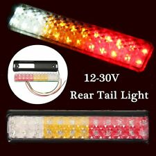 24 LED Car Rear Trailer Tail Light Brake Stop Turn Signal Lamp Waterproof