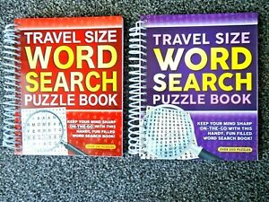 WORD SEARCH BOOK - ADULT'S ACTIVITY  SPIRAL TRAVEL 201 PUZZLES suit children too