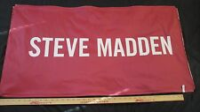 "Very Rare & Cool Steve Madden Store Sign 39"" x 20"" Shoes Boots"
