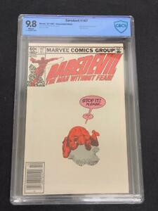 DAREDEVIL #187, (1982), Marvel Comics, CBCS 9.8, White Pages, News Stand, MILLER