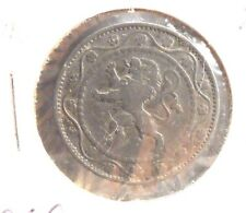 CIRCULATED 1915 25 CENTIMES BELGIUM COIN!