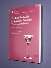 Teaching Co Great Courses DVDs      EVERYDAY GUIDE to SPIRITS  COCKTAILS   new