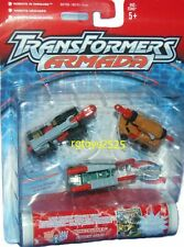Transformers Armada Minicons Bonecrusher Knock Out Wreckage Factory sealed 2002