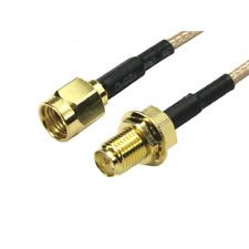 Newlink 1.8m Cable De Extensión De Antena WiFi Router inalámbrico-Polaridad Inversa SMA