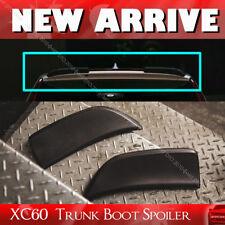 Carbon ForVolvo 5DR XC60 D Style Trunk Spoiler 2 Pcs 2017 T5 T6