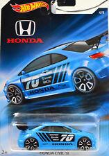 Honda Civic si Azul #70 Escala 1:64 Modelo de Coche Von Howheels