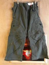 REI UPF 30+ boys convertible pant short size Juniors S (6-8) nylon green elasti