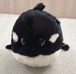 """Ty SPLASH Shamu Whale Ball beanbag plush 5"""""""