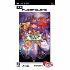 Used PSP  Princess Crown Atlus  SONY PLAYSTATION JAPAN IMPORT