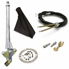 11 Trans Mnt Emergency Hand Brake  Black Boot, Silver Ring and Cable Kit