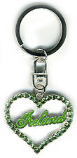 Irish Keyring - Heart Ireland - Green - Irish Gifts