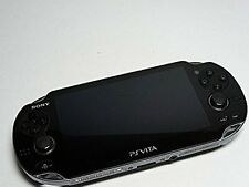 PlayStation PS Vita Wi-Fi Console Crystal Black PCH-1000 ZA01 Japan Console