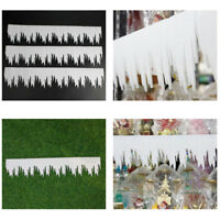 AS_ 3PCS ICICLE ICE STRIP ORNAMENT CHRISTMAS PARTY DIY WINDOW WALL DECORATION SU