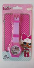 LOL KIDS WRISTWATCH Pink - LCD Display - Digital - BRAND NEW IN PACKAGE