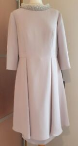 Taupe Veni Infantino Mother Of The Bride/Groom Outfit Size:18