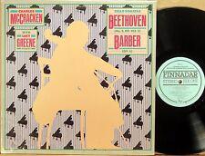 RARE FINNADAR Beethoven Barber McCRACKEN Cello Sonatas LUCY GREENE 90076-1 NM-