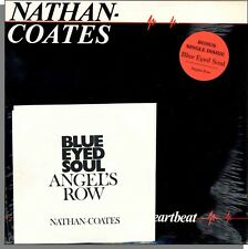 Nathan-Coates - Heartbeat - New 1981 LP Record With Bonus Single! TAXI CAB #103