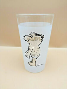 Thomas  Brause Glas mit Motiv Bär Janosch ( Geschirr ) Trinkglas