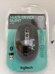 Logitech - M590 Bluetooth Optical Mouse - Graphite Tonal #9048