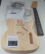 Tele Electric guitar kit guitar unfinished all parts UK unbranded DIY pack TL