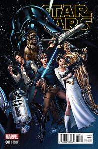 Star Wars #1 (1:50 Connecting J Scott Campbell Variant / JSC / 2015 / NM)