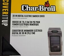 "NEW  Char-Broil 30"" Digital Electric Smoker Cover"
