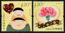 CHINA  MOTHERS & FATHERS DAY STAMPS  2013-11 & 2015-12