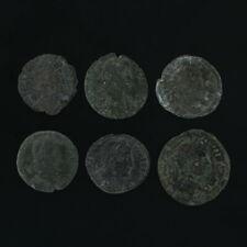 Ancient Artifact Coins Figural Roman Set of 6
