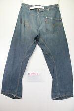 Levi's Engineered 679 Destrroyed (Cod. H1970) Tg48 W34 L34 jeans usato Vita Alta