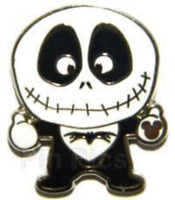 Rare Disney Pin 82351 Jack Skellington NBC Artist Proof LE Only 25 made AP