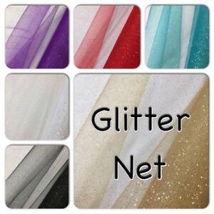 "SPARKLE GLITTER NET/TULLE - 150CM/60"" wide. Crafts, Costume, Decoration"