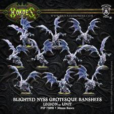Hordes Legion Everblight Grotesque Raiders/Banshees Blighted Nyss (10) PIP 73090