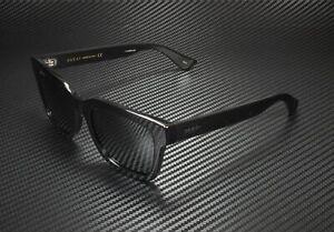 GUCCI GG0001S 001 Rectangular Square Black Smoke 52 mm Men's Sunglasses