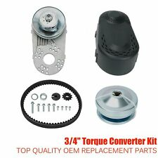 "Go Kart Torque Converter Clutch Kit 3/4"" 10T #40 #41 &12T #35 For Predator 212CC"