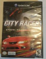 City Racer Good Condition TESTED AND WORKING No Manual (Nintendo GameCube, 2003)